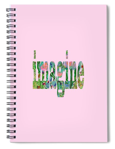 Imagine 1011 Spiral Notebook
