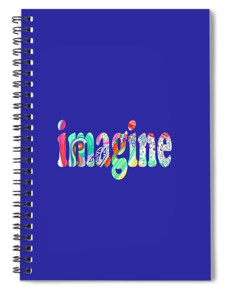 Imagine 1017 Spiral Notebook