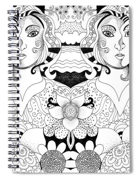 Imagine 3 Spiral Notebook