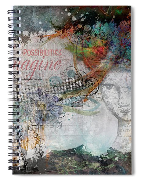 Imagine Possibilities Spiral Notebook