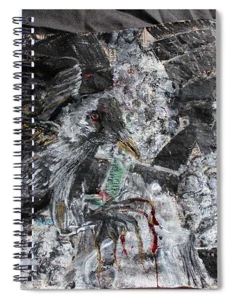 Immersed And Flawed By Cash Flow Spiral Notebook