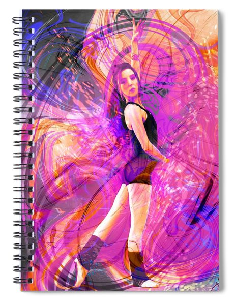 Immortal Memory Spiral Notebook