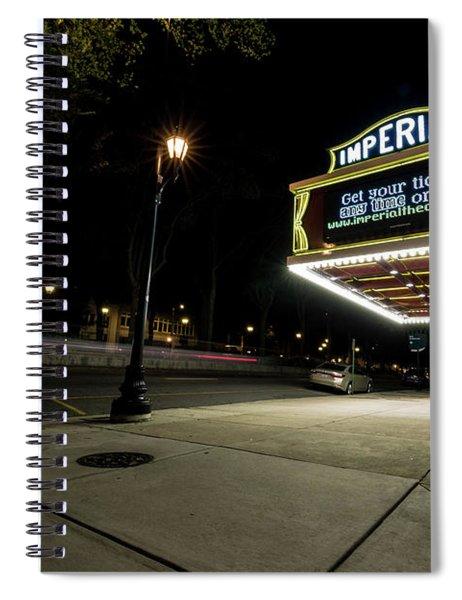 Imperial Theatre Augusta Ga Spiral Notebook