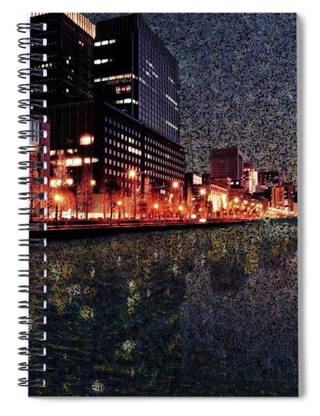 Impression Of Tokyo Spiral Notebook