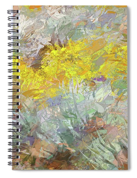 Impressions   Of Agave And Brittlebush Spiral Notebook