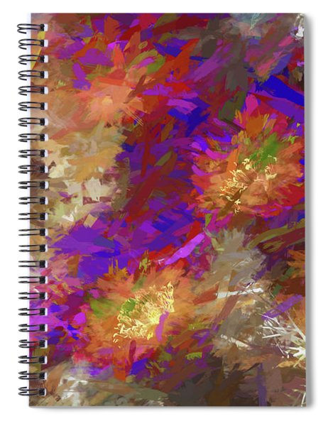 Impressions Of Cactus Flowers Spiral Notebook
