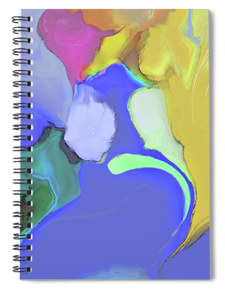 Impromptu Spiral Notebook by Gina Harrison