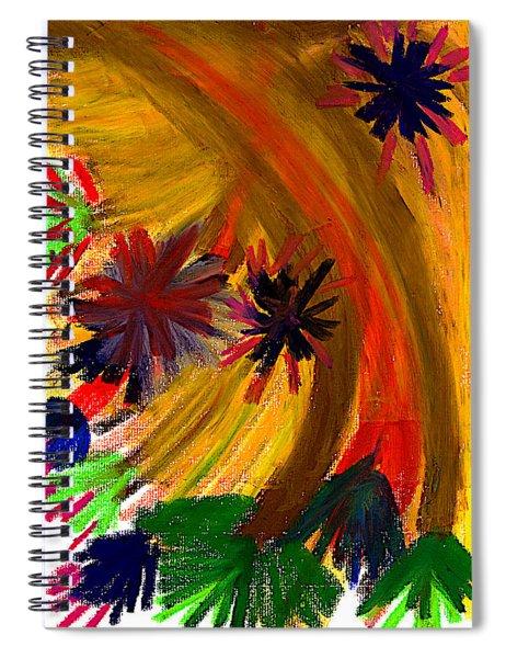 Improvisation #74 Spiral Notebook