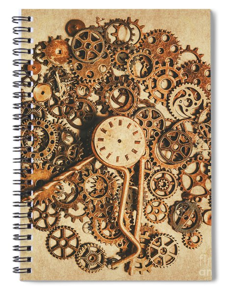 Improvised Time Spiral Notebook