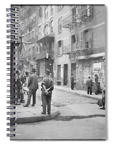 In Chinatown  New York 1900 Spiral Notebook