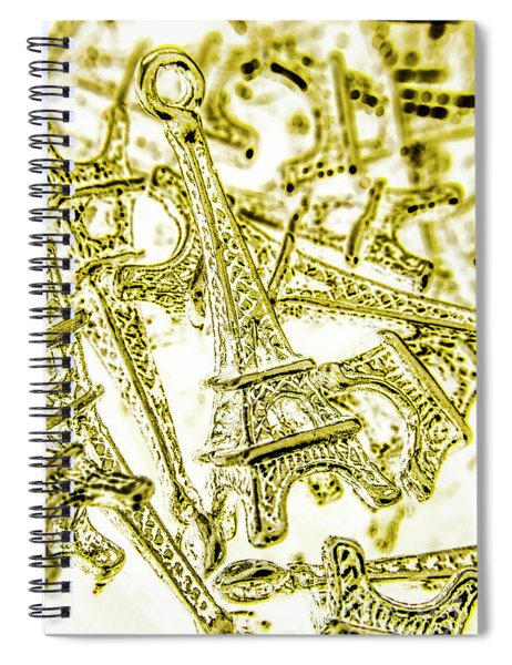 In French Forms Spiral Notebook