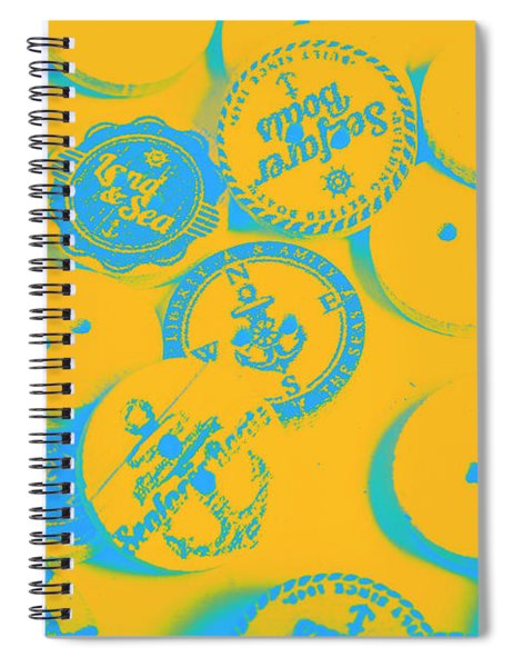 In Old Sailor Fashion Spiral Notebook