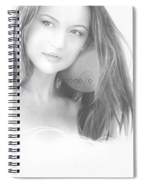 In The Clouds No. 2 Spiral Notebook