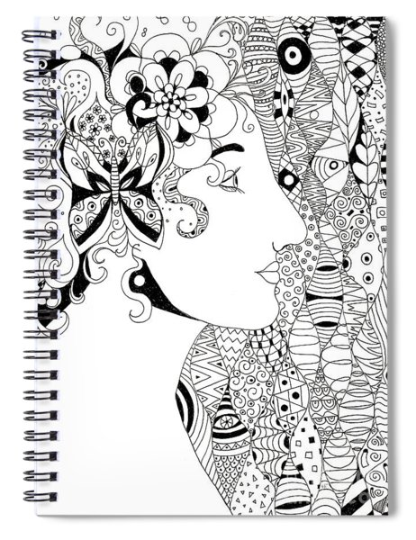 In The Eye Of The Beholder Spiral Notebook