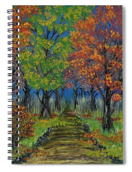 In The Fall Spiral Notebook