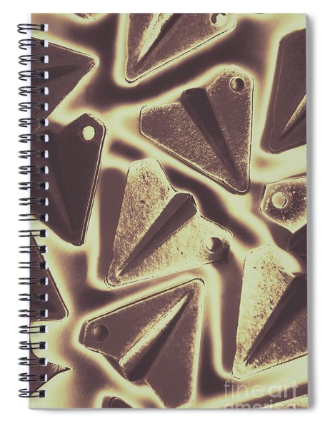 In The Fold Spiral Notebook