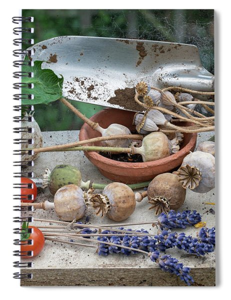 In The Greenhouse Spiral Notebook