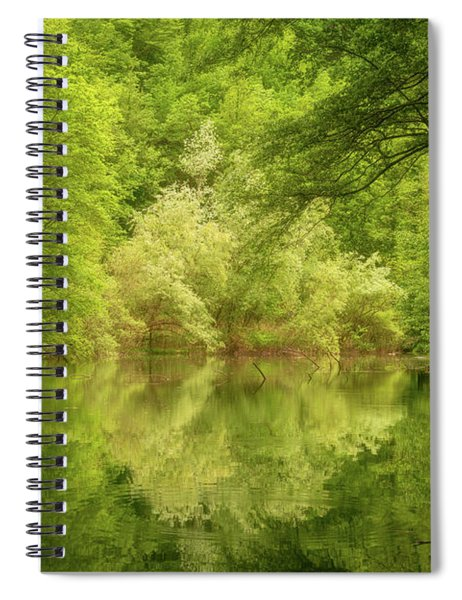 In The Heart Of Nature Spiral Notebook