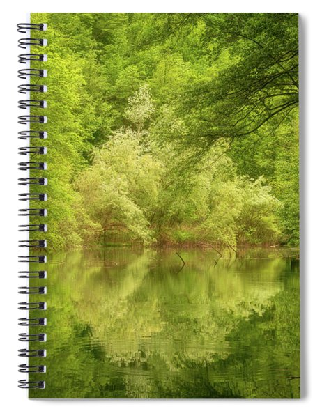 Spiral Notebook featuring the photograph In The Heart Of Nature by Mirko Chessari