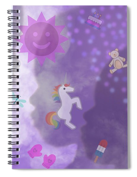 In The Mind Of A Child Spiral Notebook