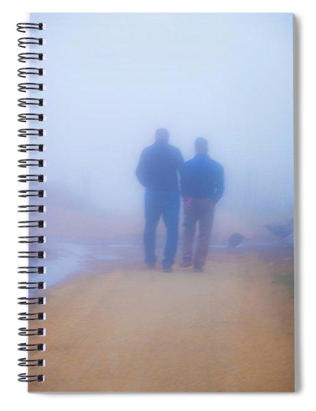 In The Mist 1 Spiral Notebook