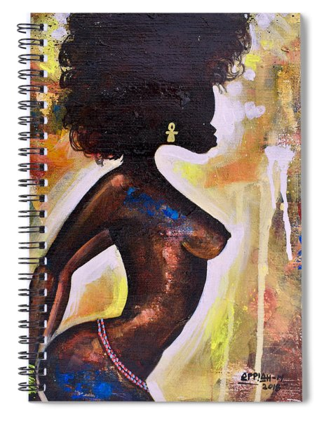 In The Night Spiral Notebook
