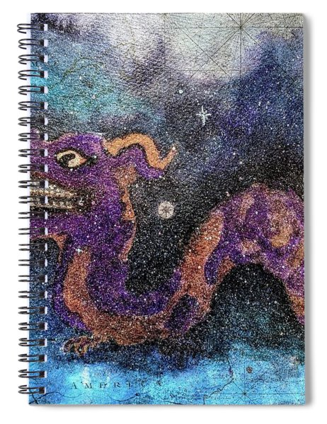 In The Night Sky  Spiral Notebook