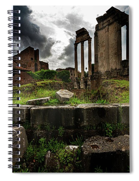 In The Roman Forum Spiral Notebook