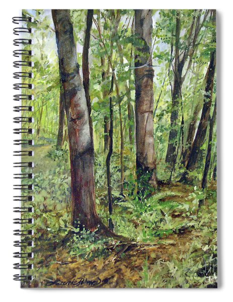 In The Shaded Forest  Spiral Notebook