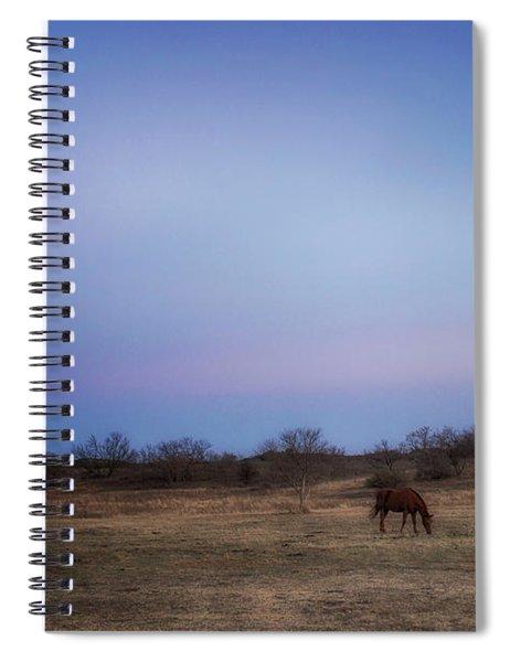 In Unhurried Fashion Spiral Notebook