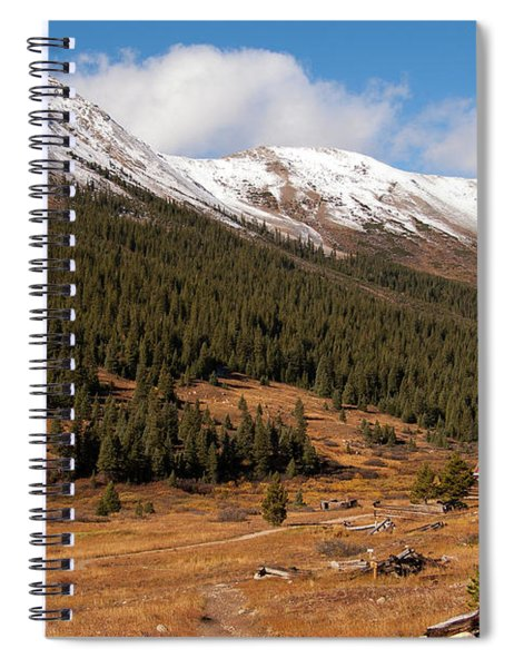 Independence Pass Spiral Notebook
