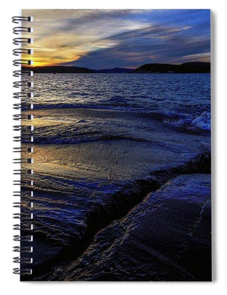 Indigo Spiral Notebook