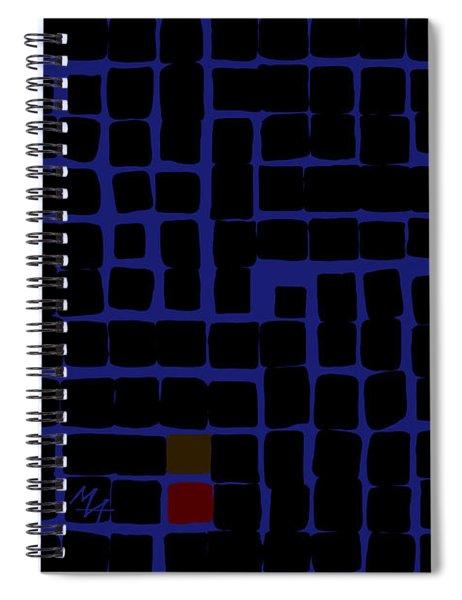 Industrial Night Spiral Notebook