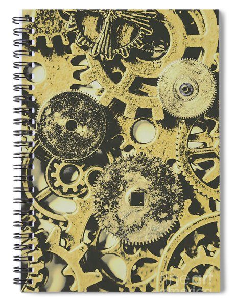 Industrialised Spiral Notebook