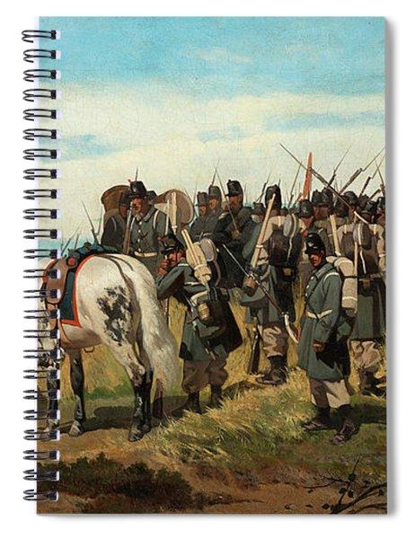 Infantry Spiral Notebook