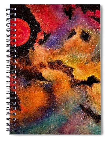 Infinite Infinity Spiral Notebook