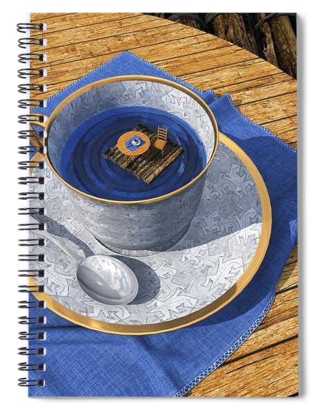 Infinitea Spiral Notebook