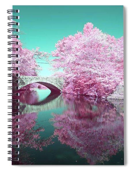 Infrared Bridge Spiral Notebook