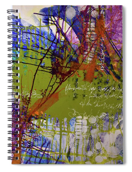 Inner Faith Spiral Notebook by Kate Word