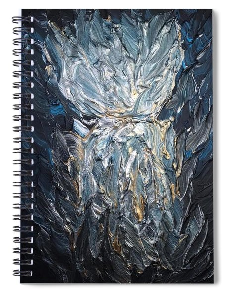 Inner Strength Latte Stone Spiral Notebook