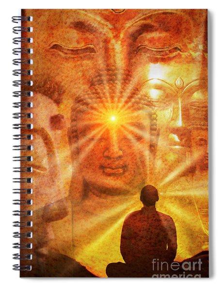 Inner Vision  Spiral Notebook by Tim Gainey