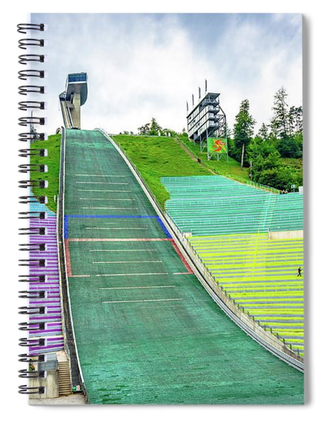 Innsbruck Olympic Stadium Spiral Notebook