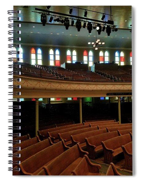 Inside The Ryman Spiral Notebook