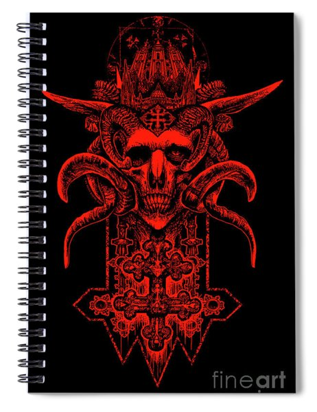 Insidious Intentions Spiral Notebook