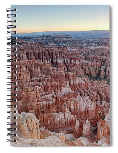 Inspiration Point Sunrise Bryce Canyon National Park Summer Solstice Spiral Notebook