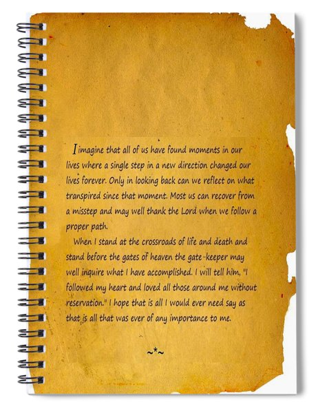 Inspire With Crossroads Spiral Notebook