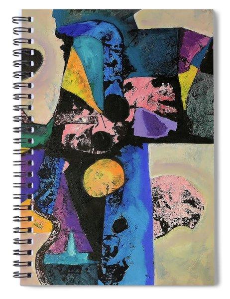 Intense Thrust Spiral Notebook