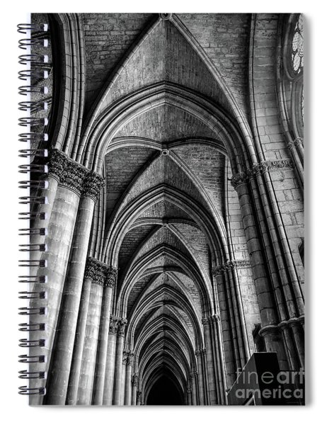 Interior Notre-dame Cathedral Reims France Spiral Notebook