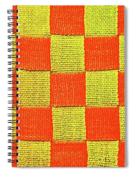 Interlaced Canvas Straps 1 Spiral Notebook