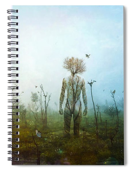 Internal Landscapes Spiral Notebook